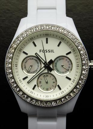 Fossil es-1967 stella часы из сша 4 циферблата wr50m