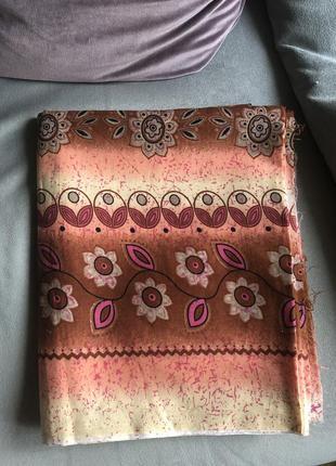 Отрез ткани хлопок для пошива платья, италия 2,3метра