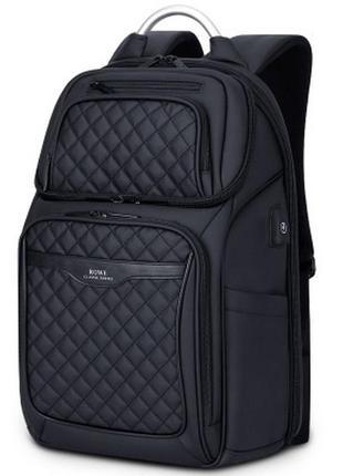 Мужской Рюкзак Городской для Ноутбука Rowe (R8260) Черный