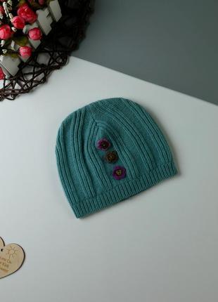 Демисезонная шапка на 3-5 лет