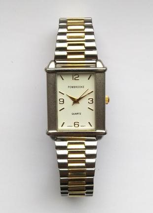 Pembrooke мужские часы из сша стальной браслет мех. japan miyota