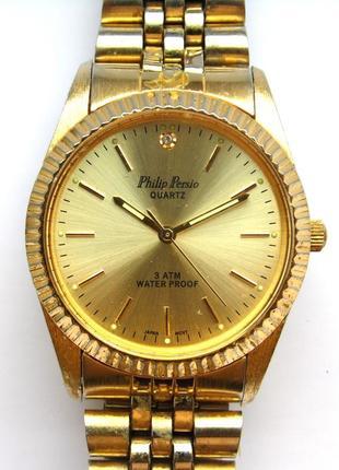 Philip persio мужские часы из сша оригинал мех. japan miyota w...