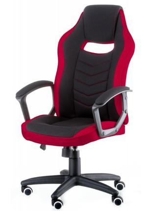 Кресло офисное Special4You Riko Black/Red (E5234) черно-крас