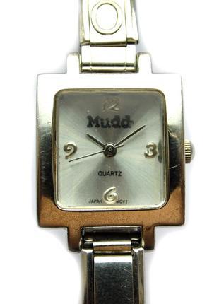 Mudd часы из сша стальной браслет мех. japan miyota