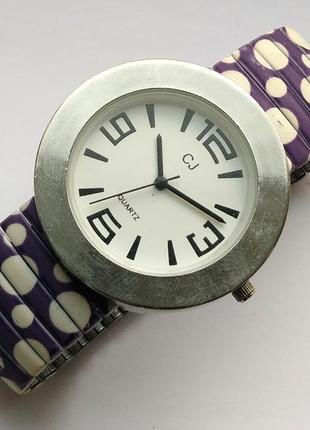 Cj часы из сша стальной браслет механизм singapore sii