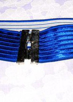 Синий пояс, ремень резинка