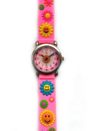 Яркие часы из сша солнышко вместо секундной стрелки мех singap...