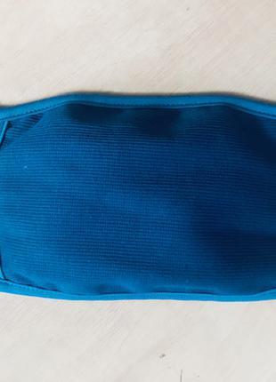 Защитная маска для лица многоразовая двухслойная