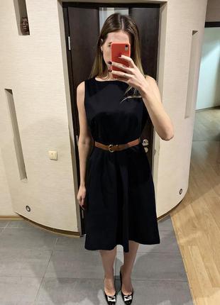 Аккуратное черное платье george