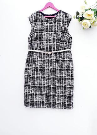 Шикарное теплое платье сарафан большой размер