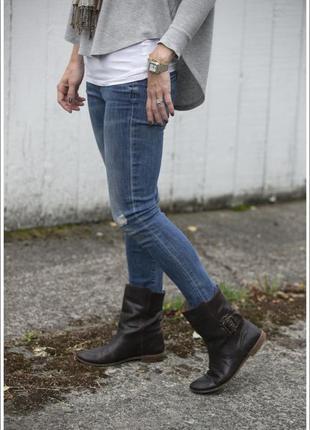 Ботинки 🌺 деми кожаные 100 % натуральная кожа женские 41 полно...