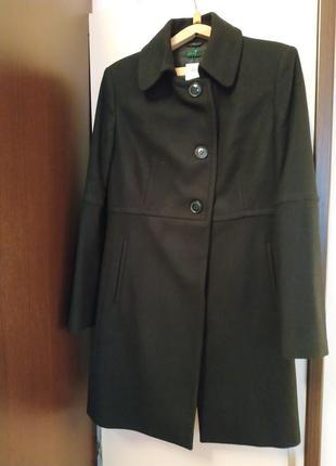 Пальто кашемир шерсть benetton