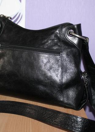 Брендовая кожаная сумка arthur & aston