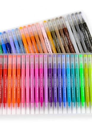 Большой набор маркеров для рисования и скетчинга  на 48 цветов