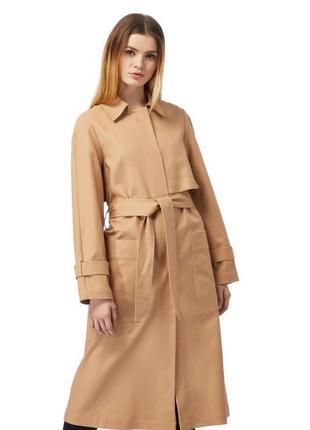 Jasper conran супер качество коттоновый  тренч/плащ/пальто с п...