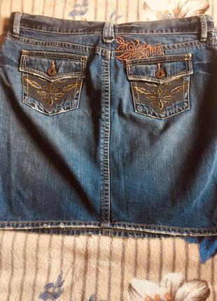 Американская джинсовая юбка old navy