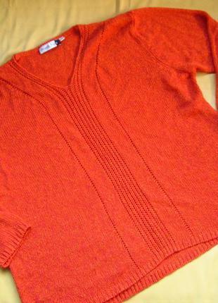 Яркий фирменный свитер оверсайз,отличное состояние