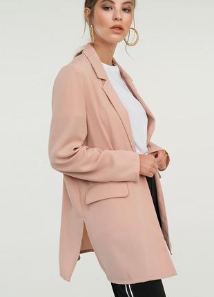 Кардиган пудровый розовый накидка