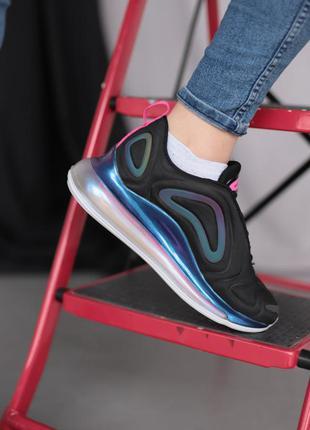 Nike air max 720 black blue violet