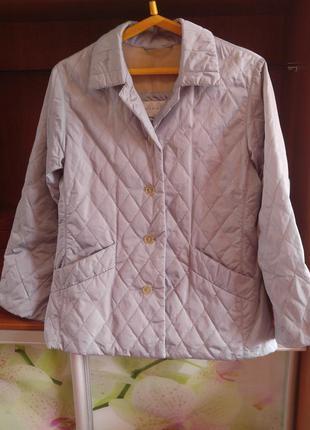Демисезонный стеганный  пиджак