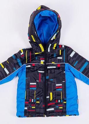 Яркая демисезонная куртка для мальчика lego 98-104 двойне