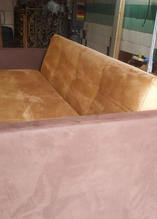 Перетяжка мягкой мебели, изготовление под заказ. Диван Кресло Пуф
