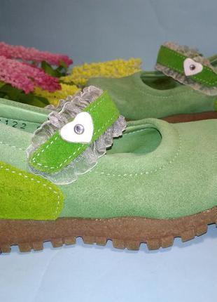 Туфли замшевые brakkies eur 23 модель мэри джейн