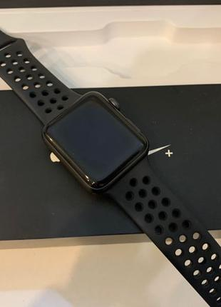 Apple Watch Series 2 42mm Nike Edition ГАРАНТИЯ магазин