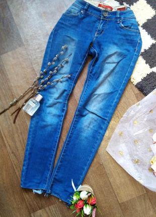 Удобные джинсы скинни 42-44