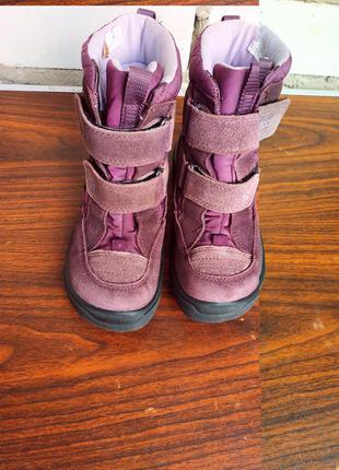 Зимние ботинки ecco gore-tex размер 28-й.