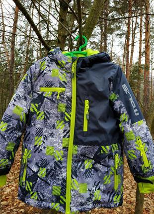 Зимняя куртка coccodrillo,размер 104.