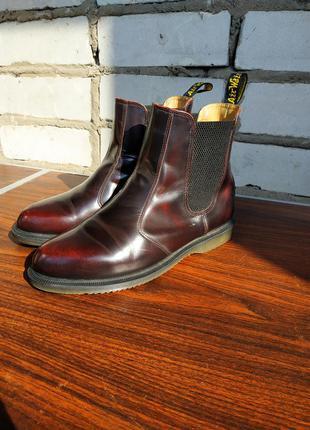 Ботинки челси dr. martens flora chelsea boot,размер 40-й...