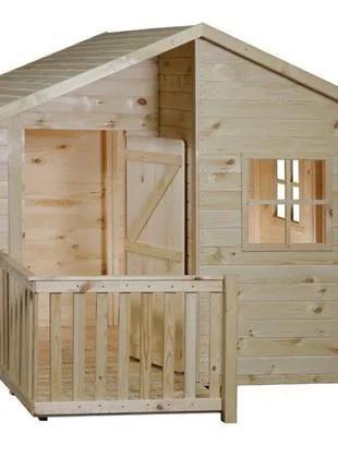 Домик детский деревянный