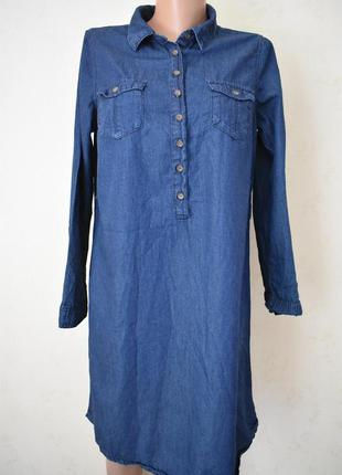 Джинсовое платье -рубашка george