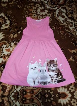 Платье для девочек 8-10 лет