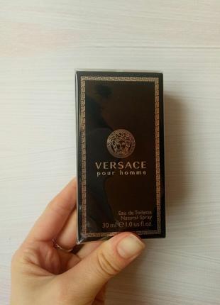 Туалетная вода для мужчин Versace Pour Homme от Versace 30мл