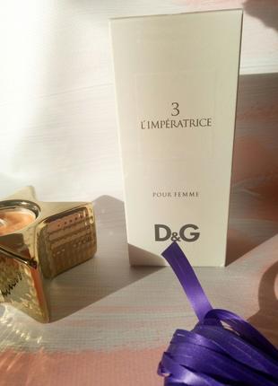 Туалетная вода для женщин L' imperatrice 3 by Dolce&Gabbana 100ml