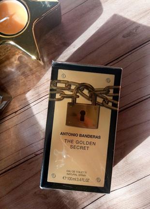 The Golden Secret by Antonio Banderas Cologne 100 ml (Оригинал)