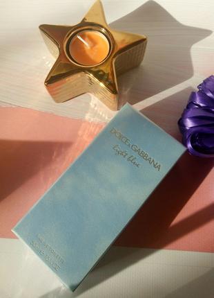 Light Blue от Dolce & Gabbana 50мл (Оригинал)
