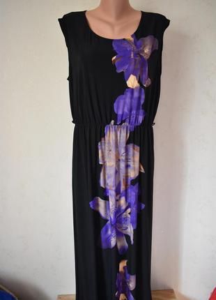 Красивое платье с принтом большого размера f&f