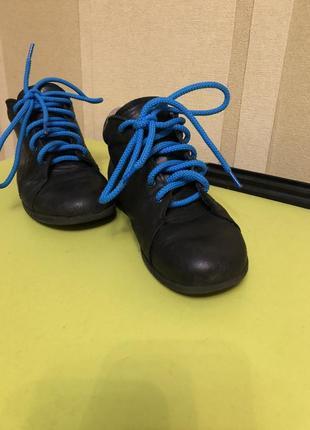Кожаные ботиночки с ортопедической стелькой 19,5см