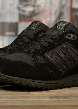 Кроссовки мужские 16763  Adidas ZX 750, черные.