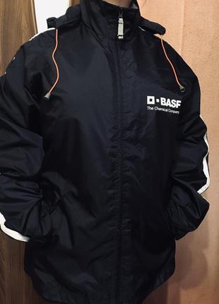 Легкая куртка ветровка унисекс большого размера
