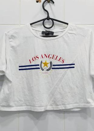Шикарный топ футболка с принтом