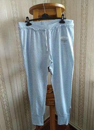 Женские штани на манжетах большого размера janina