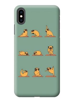 Чехол «Зарядка» для Iphone XS Max Силиконовый