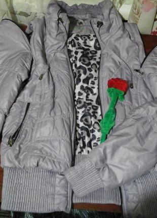 Куртка деми, жилет 1+1=3