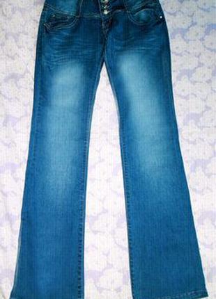 Расклешенные,классические джинсы,штаны,брюки Gold Classic Fashion