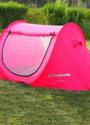 Палатка Двухместна бордовая