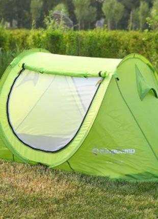 Палатка Двухместна зеленая